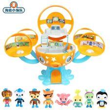 Octonauts Sound And Light Octopod Castle Action Figure Adventure Playset Toys