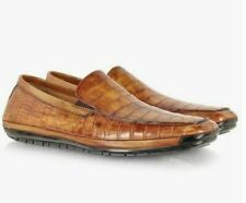 €890 Pakerson Alligator Moccasins for Men in Size 41