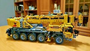 2606 PCS Technic Motor Power Mobile Crane Mk Building Kit Set Blocks Educational