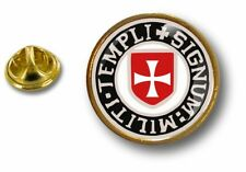 pins pin badge pin's metal drapeau templier knights templar croix de malte r6
