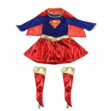 Girls' Superhero Fancy Dress Complete Outfit