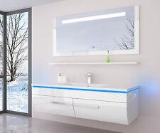 Badmöbel weiß hochglanz modern  Lackierte Badmöbelsets | eBay
