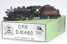 Van Hobbies PFM Brass HO Canadian Pacific D-10 Steam Loco 4-6-0, Samhongsa 1973