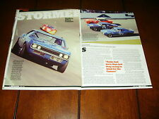 1968 YENKO CAMARO ROAD RACE CAR  ***ORIGINAL 2012 ARTICLE***