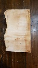 """Curly Maple Wood Block 2 3/4"""" Thick 3"""" Wide by 10"""" Long Lot m1375"""