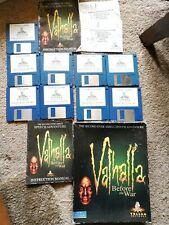 Valhalla avant la guerre Amiga Game (Floppy) en boîte très bon état ~ Grande Boîte
