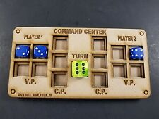 Command Dice Center for skirmish games