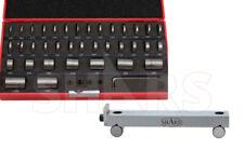 Shars 36 Pcs Steel Round Gage Blocks Gages Set 1 X 6 Precision 5 Sine Bar S