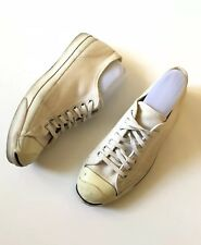 Vintage Converse Jack Purcell White Made In USA Men's Size 10