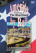 America By Rail The Heartland Greg Scholl DVD NEW Award Winning! Amtrak DC to SF