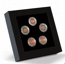 LEUCHTTURM LED-Präsentationsrahmen für 5 x dt. 5-Euro Münzen in Kapseln (358252)