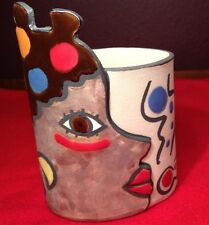 "FOC-ART Ceramica ""DETALLE"" Art Pottery Santa Maria dePalautodera Barcelona Spain"