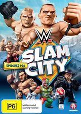 Sports DVD: 4 (AU, NZ, Latin America...) Wrestling PG DVD & Blu-ray Movies