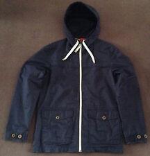 Genuine Esprit Men's Lightweight Cotton Hooded Jacket Dark Navy Large