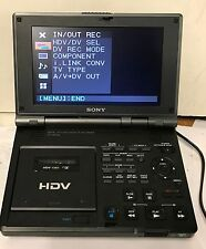 Sony Digital HD Videocassette Recorder GV-HD700 HDV 1080i Mini DV