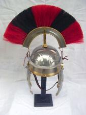 Roman Centurion Helmet-Gallic red/black plume With liner free helmet stand
