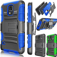 ShockProof Armor Heavy Duty Kickstand Belt Clip Case Cover for Samsung Galaxy S5