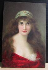 Old Angelo Asti Artist Signed Glamour Raphael Tuck Postcard - No.2731 Juliet