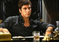 SCARFACE Movie PHOTO Print POSTER Textless Film Art Al Pacino Tony Montana 003