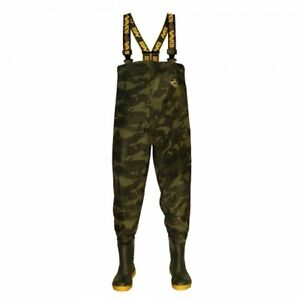Vass 785E Series Heavy Duty Camo Chest Waders (All Sizes) *New* - Free Delivery