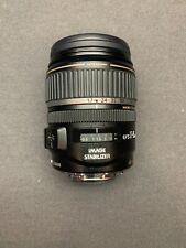 Canon Ultrasonic EFS 17-85mm Lens + Image Stabilizer