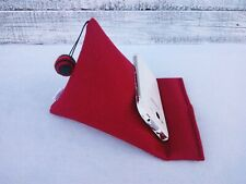 Handmade mobile holder cell red pillow Ipad cushion stand gift