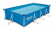 Bestway Steel Pro Frame 13ft x 7ft Large Rectangular Family Swimming Pool 56405