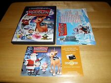 Rudolph The Red-Nosed Reindeer & The Island of Misfit Toys (DVD, 2001) Rare/OOP!