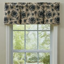"""Sunflower Garden Lined Valance Country Cotton Farmhouse 14""""x60"""" by Park Designs"""