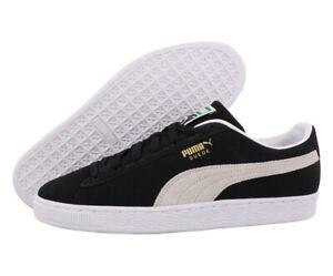 Puma Suede Classic XXI Mens Shoes Size 11, Color: Puma Black/Puma White