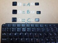 DELL INSPIRON 1540 1545 1546 SERIES ANY KEY, SELLING KEYS FROM KEYBOARD