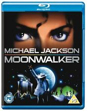 MICHAEL JACKSON: MOONWALKER [Blu-ray Disc] 1988 Musical Movie Cult Classic Moon