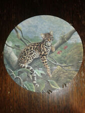 1990 Knowles The Margay Great Cats of the Americas Plate by Lee Cable