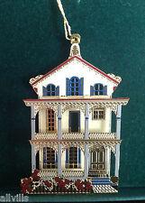 Stockton Row #Or006 Cape May Nj 1995 Shelia's 3D Historical Ornament