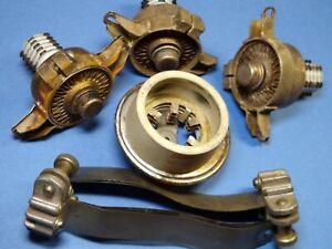 4CX300A Bundle: 3 Tubes, Eimac SK-710 Socket, SK-606 Chimney & Two Anode Straps