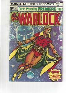 The Power of Warlock #9 VF 8.0 Marvel Comics 1975 Premiere