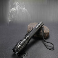 Super Bright 90000LM T6 Tactical Military LED Flashlight Torch Zoomable 18650 Gw