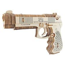 1:1 Scale Wood Wooden 3D Puzzle Model Beretta M92F Gun Pistol DIY Creative Toys