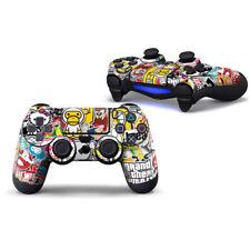 Sony Ps4 Controller Skin Stickerbomb Sticker Schutzfolie PlayStation 4