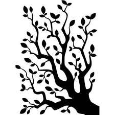 NEW DARICE BRANCH WITH LEAVES PATTERN EMBOSSING FOLDER