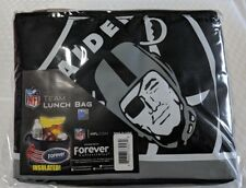 Oakland Raiders Insulated soft side Lunch Bag Cooler New - BIg Logo