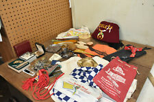 L55- Vintage Junk Drawer Lot - Advertising Zembo Jewelry Etc