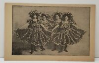 Victorian Women In Costume Photo Print Vintage Postcard C4