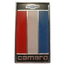 NEW Trim Parts Red White & Blue Rear Trunk Emblem / FOR 1975-77 CAMARO / 6838