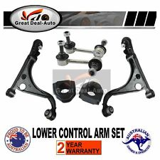 For Ford Falcon AU 2 BA BF Front Lower Control Arms & Swaybar link w/ D Bushiing