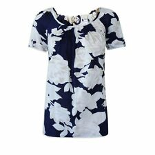 Hip Length Scoop Neck Floral Tops & Shirts NEXT for Women
