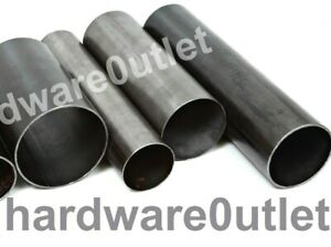 Mild Steel ROUND TUBE Metal Pipe Bandsaw cut to size From UK Metal Distributor
