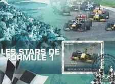 Timbre Sports Voitures Formule 1 Togo BF421 o de 2010 lot 26318 - cote : 17 €