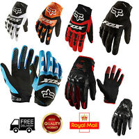 Full Finger Gloves All Weather Mountain Bike Hard Knuckle MTB BMX Off Road Sport