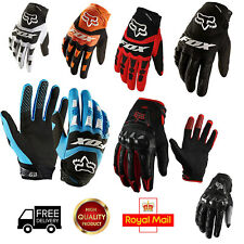 Full Finger Gloves All Weather Mountain Bike Hard Knuckle MTB BMX Off Road Sport